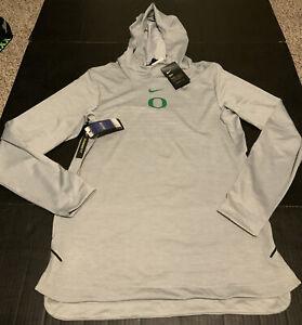 Nike Men's Oregon Ducks L/S Dry Hoodie Shirt Gray Size: 4XL NWT