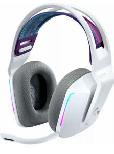 Logitech G733 Lightspeed Wireless RGB Gaming Headset Stereo White Lightly Used