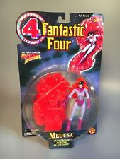 1996 Medusa Action Figure, Inhumans Fantastic Four, Marvel Action Hour - Toy Biz