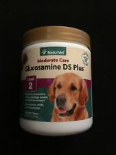 NaturVet GLUCOSAMINE DS Plus-MSM and Chondroitin Soft Chews for Dogs-120ct-Lev 2