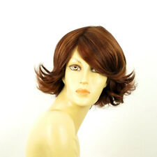 short wig for women brown copper wick light blonde and red ref: edwige 33h PERUK