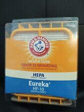Eureka Hf-10 Vacuum Filter Odor Eliminating- Arm & Hammer Hepa Filter New Sealed