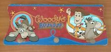 Toy Story Woodys Roundup Wooden Wall Hanging Coat Rack Hooks
