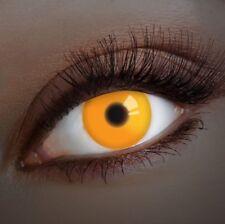 aricona UV Farbige Kontaktlinsen leuchtende Farblinse Karneval Halloween deckend