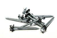(250) 8 x 2 Hex Head Sheet Metal Screws Neoprene Washer (Roofing screws)