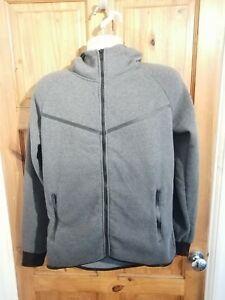 Grey XL Hooded Fleece