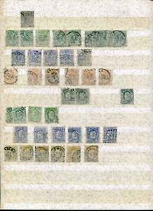 Belgien Lagerbestand */gest. 1860er - 1980er Jahre, ca. 1900 Marken