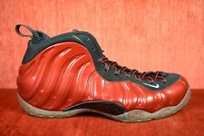 CLEAN NIKE AIR FOAMPOSITE ONE METALLIC RED 314996-610 Size 9
