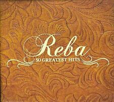 50 Greatest Hits [Box] by Reba McEntire (CD, Oct-2008, 3 Discs, MCA Nashville)