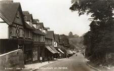 Market Place Chalfont St Peter  Nr Gerards Cross unused RP old pc Derwent WHS