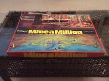 Mine a Million, John Waddington Games 1965 classic vintage board game VGC