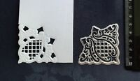 Lattice Corner / Metal Cutting Die /  Birthday /  Wedding / Ornate. /Cut/Emboss