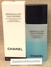 CHANEL DEMAQUILLANT YEUX INTENSE GENTLE BIPHASE Eye Makeup Remover NIB Full size