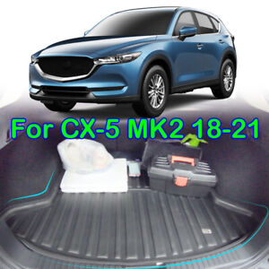 Tailored Cargo Liner Boot Trunk Tray Floor Mat For Mazda CX-5 CX5 MK2 2017-2021