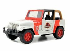 Jada 1:43 Display Jurassic World Assortment - Jeep Wrangler Diecast Car
