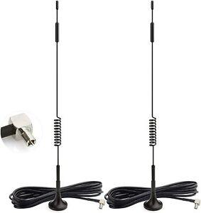 2x 4G LTE Magnetic Antenna For Mobile Broadband Modem USB Modem Dongle Adapter