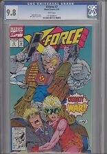 X-Force 7 CGC 9.8 1991 Marvel Comic: Rob Liefeld art