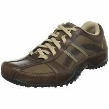 Skechers for Work Men's Systemic Casual,Brown Size 9.5 M US