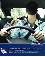 PUBLICITE ADVERTISING 104  2005  NORAUTO   accessoires automobiles  DVD