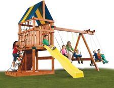 Swing N Slide Outdoor Kids Play House Set Playground Equipment Playset Swingset