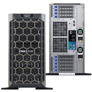 Dell EMC PowerEdge T640 Tower Server Intel Xeon Silver 4110 16GB 240GB SSD KVNC7