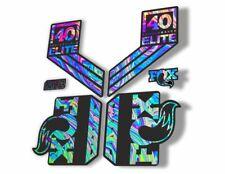 FOX 40 Elite Performance 2017-18 Fork Suspension Factory Decal Sticker Oil Slick