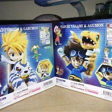 Digimon Adventure Yamato Ishida Taichi Agumon Gabumon Yagami Figure New in Box