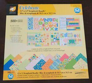 American Traditional Designs 12x12 Celebrate Scrapbook Bundle Birthday 500+