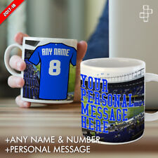 PERSONALISED EVERTON MUG FOOTBALL GIFT ANY NAME NUMBER & MESSAGE GOODISON PARK