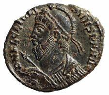 "Julian II The Apostate AE19 ""Heroic Bust & Votive"" Heraclea RIC 105 Scarce nEF"