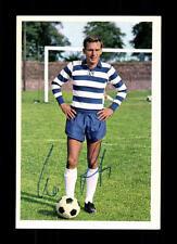Werner Lotz MSV Duisburg 1968-69 Bergmann sammelbild ORIGINALE FIRMATO