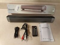 Soundbar, Outdoor/Indoor Wired & Wireless Bluetooth Stereo Speaker with Remote