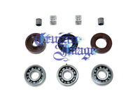 SUZUKI GT125 CRANKSHAFT REBUILD KITS OIL SEALS BEARINGS CI-GT125CSRKT