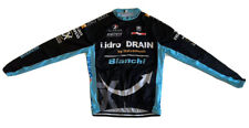 Cycling SMS Santini Bianchi Drain Ubi Banca Jersey Long Sleeve Size-XL NLV