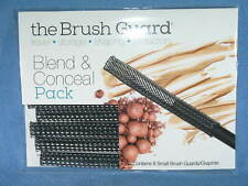 THE BRUSH GUARD Blend & Conceal Pack 8 Small GRAPHITE Brush Guards - NEW
