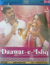 DAAWAT - E - ISHQ - ADITYA ROY KAPOOR - NEW BOLLYWOOD BLU RAY DVD - FREE UK POST