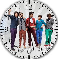 One Direction Frameless Borderless Wall Clock For Gifts or Home Decor E136