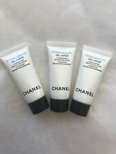 3x Chanel Hydra Beauty Gel Creme Hydration Protection Radiance 5ml Each Trvel Sz