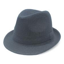 Men Women Trilby Hats Fedora Caps Sunhat Sunbonnet Jazz Summer Beach 4 Sizes