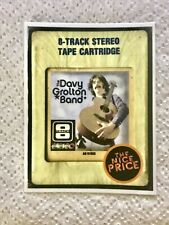 Davy Grolton 8-Track Tape Dave Grohl Vinyl Decal/Sticker Foo Fighters🔥Nirvana