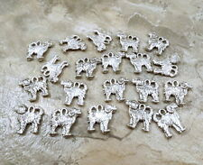 20 Pewter Portuguese Water Dog Charms - 5485