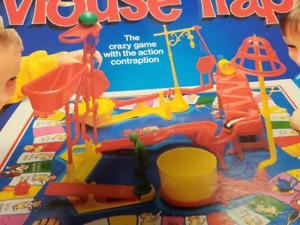 MB Games Original Mousetrap Board Game 1994 Spare Parts original Diver version