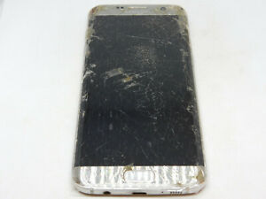 Samsung Galaxy S7 Edge SM-G935T 32GB Untested For Parts or Repairs Only
