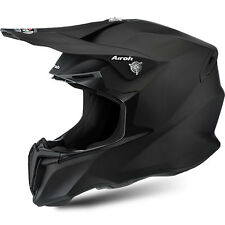 AIROH CASCO TWIST 2016 NERO BLACK OPACO MATT HELMET MOTO CROSS ENDURO TG M