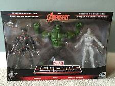 Marvel Legends Infinite Avengers 3 Pack Ultron Hulk Phasing Vision
