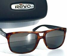 22776738ea7 Hot This Week. NEW  REVO HOLSBY Matte Tortoise POLARIZED Grey Graphite Lens  Sunglass 1019-02 GY