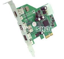 1PC Taiwan IOI fwb-pcie1x11a 3-Port 1394 video capture card 82*86MM #ZH