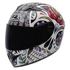 Nzi - casco integral Must II Mexican Skulls multicolor m