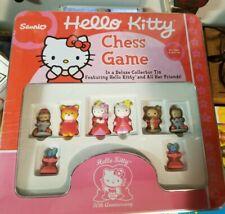 Sanrio Hello Kitty 30th Anniversary Chess Game Set w/Tin 2004 Rare collectable