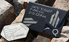 Disney Star Wars Galaxy's Edge Silver Spira Metal Card Batuu Black Spire $0